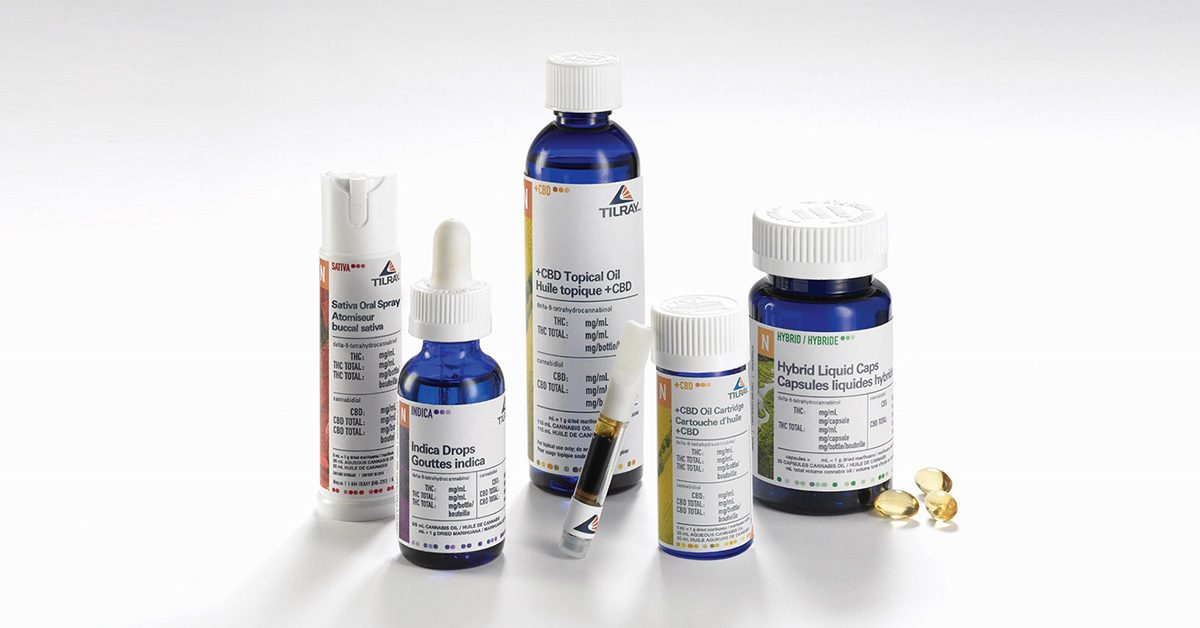 Tilray medical cannabis products